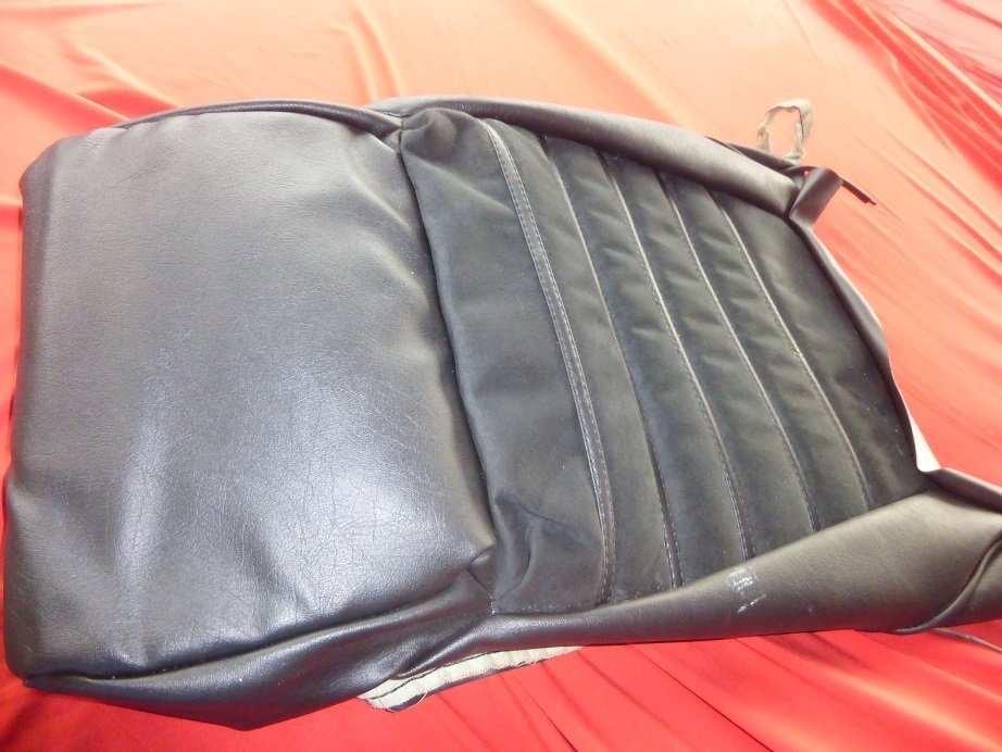 Original Alfa Romeo Spider Series Seat Cover Lower Part Alcantara - Alfa romeo seat covers