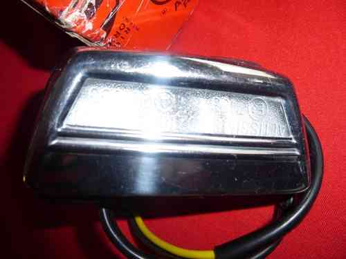 Original Alfa Romeo 105 type plate light Altissimo 105486501300 NEW