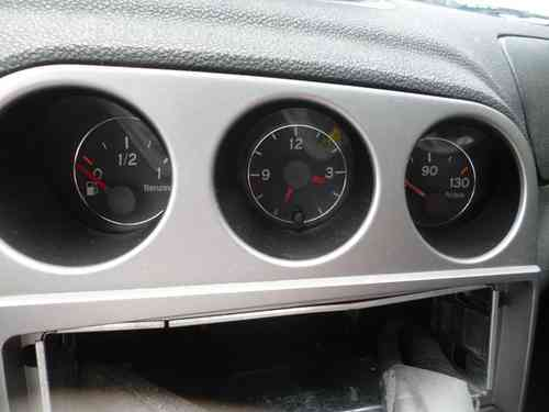 Original Alfa Romeo 156 3.2 V6 GTA Triple armartur water / gasoline / clock