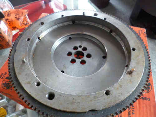 Original Alfa Romeo Boxer flywheel with 132  teeth  510511 NEW