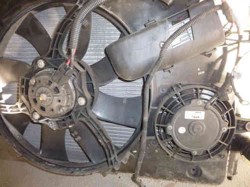 Original Lancia Thesis 3.0 V6 24V cooling fan / fan unit