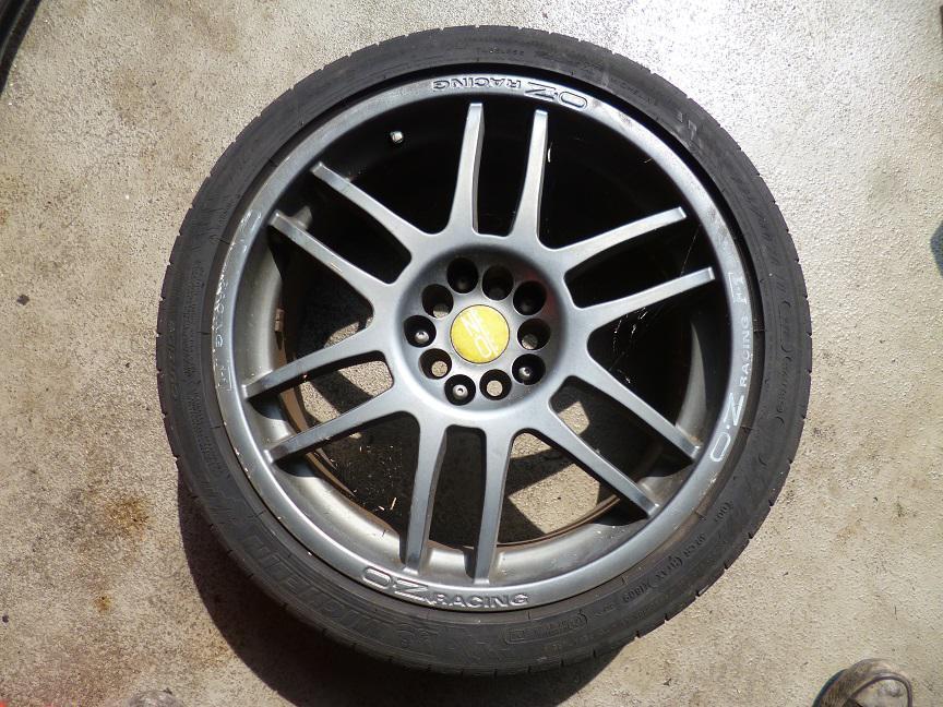 Original Alfa Romeo 156 Gta Oz Racing Wheels Aluminum Rims