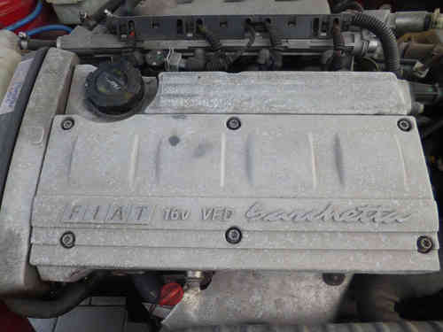 Original Fiat Barchetta 1.8 motor / engine 96 kW / 131 hp ca 74 tkm