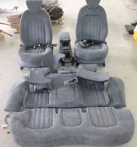 Original Lancia Thesis seat equipment / seats velor gray