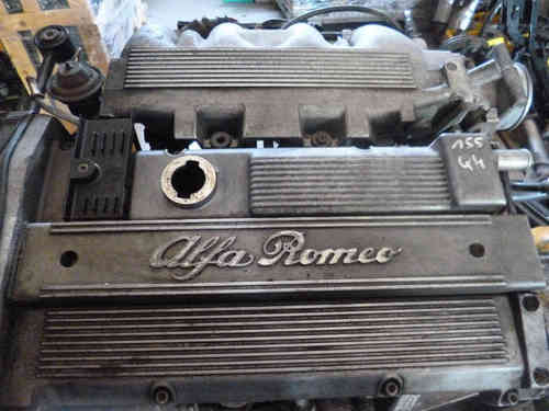 Alfa Romeo 155 Q4 + Fiat Coupe 2.0 16V turbo engine 140 KW / 190 hp