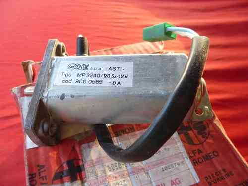 Original Alfa Romeo 164 / RZ / SZ electric window motor left front 60509543 NEW
